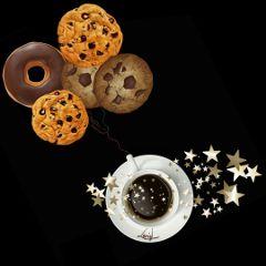 isafantasticworld coffeeeplanet coockies donut coffeecup