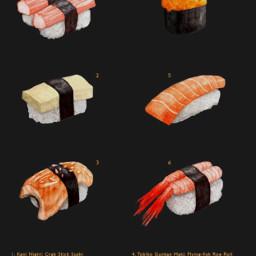 sushi wallpaper japan art freetoedit
