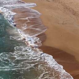 nature beachview fromabove seaandsand waves