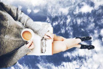 freetoedit myedit clouds book mug