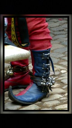 musician shoes medieval art funny freetoedit