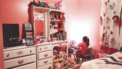 girl bedroom enjoythelittlethings playtime dramaeffect dpconmywall dpcmyweekend dpcthecolororange freetoedit