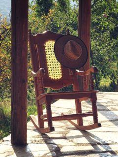 freetoedit photography chair hat rockingchair