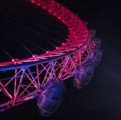 londoneye london night photography