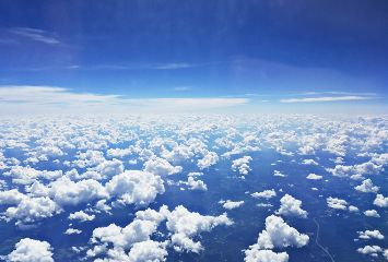 airplaneview clouds cloudscape horizon white freetoedit