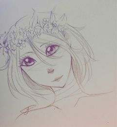 doodle oc yume sketch bored