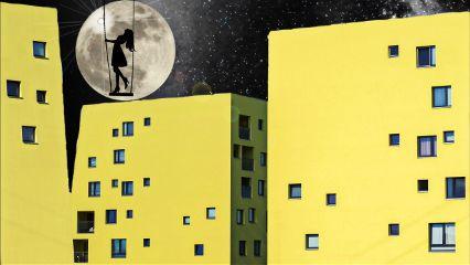 freetoedit moon girl night starrynightsky