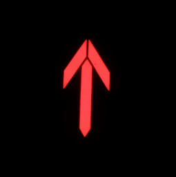 freetoedit arrow neonlights red dark