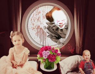 freetoedit pennywise it stephenking horror