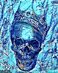 skullart picsart artislife creepyart darkart