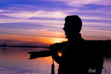 silhouette sunset mylove myphotography dpcmen