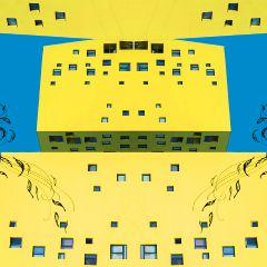 freetoedit yellow house distortion