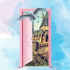 freetoedit hogwarts castle owl door