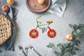 foodforobjects freetoedit food foodie bicycle