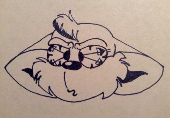 fluffy cheecks cartoonart cartooneffect mouseears