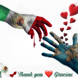 freetoedit 19deseptiembre terremoto mexico thankyou