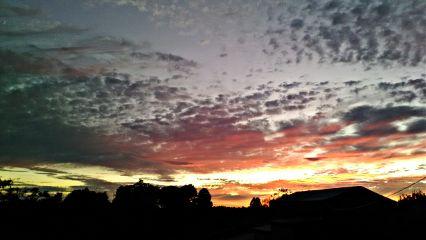 freetoedit sky sunset clouds nature