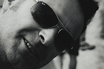 freetoedit portrait me sunglasses blackandwhite