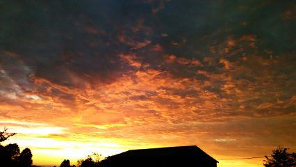 september sunset sky clouds nature freetoedit