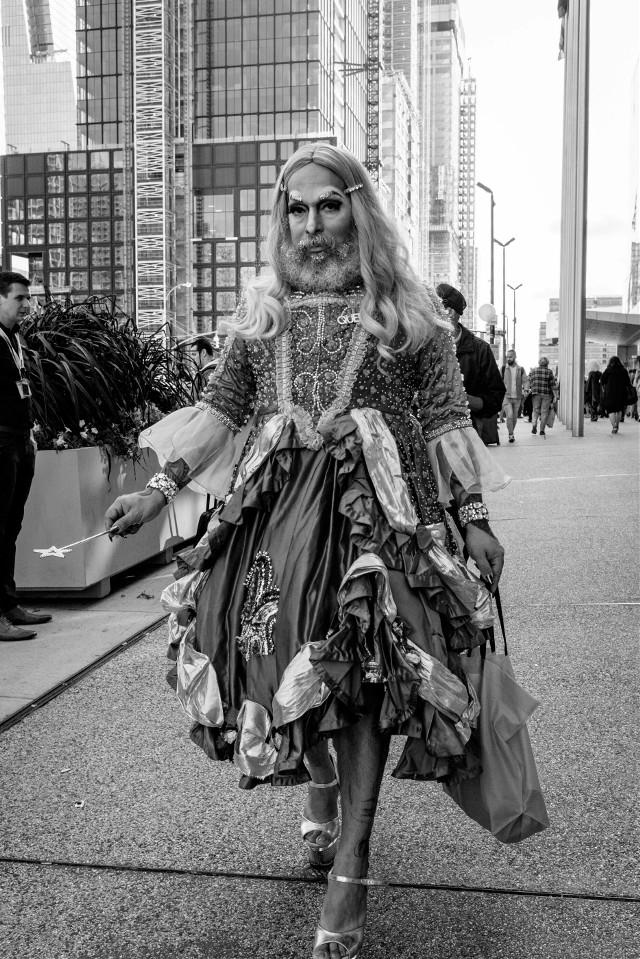 Drag Con 2017 #dragqueen #streetphotography #blackandwhitephotography #newyorkcity