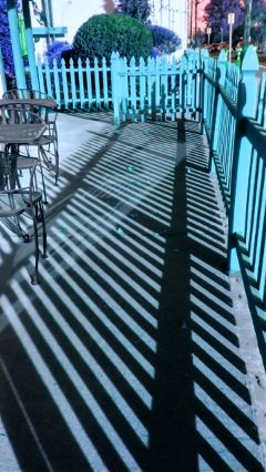 shadows colorful weird fence hueeffect freetoedit