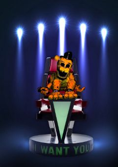 thevoice freetoedit witheredgoldenfreddy sitting fnaf