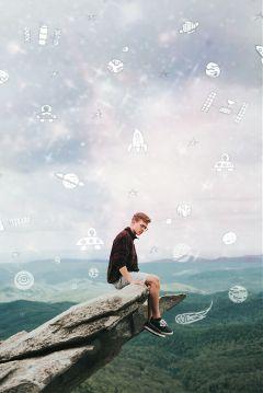 freetoedit galaxy daydreaming