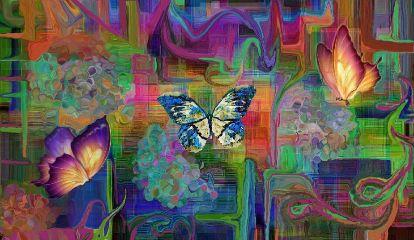freetoedit myremix contemporary absract butterflies
