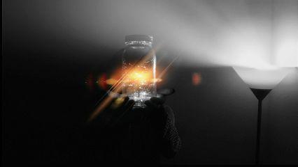 jar lamp lights shadow enjoythelittlethings freetoedit