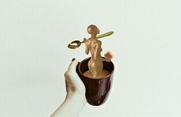 mycoffee coffeeedit coffeedayremix goldenspoon spoon freetoedit