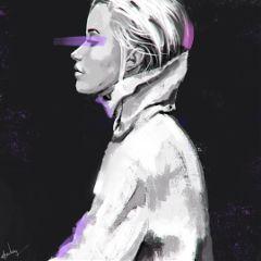 punksy artist painter illustrator canvas