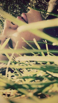 freetoedit myself nature grass fall