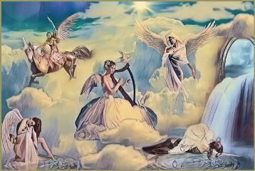 soulmagiceffect cielo sky angels ángeles freetoedit
