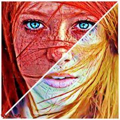 thoseeyestho picsart artislife redhead freckleface