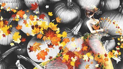 stickerborder autumn fallseason mothernature pumpkins freetoedit