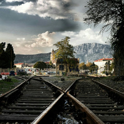 freetoedit railway nikon travel croatia