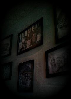 dark photograph restaurant