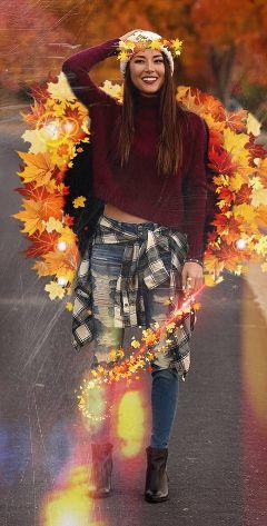 autumnoutfit freetoedit autumn outfit burgundy
