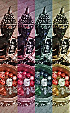 freetoedit buddha rose ladybird beads