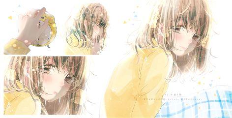 animegirl emotions happy serious love