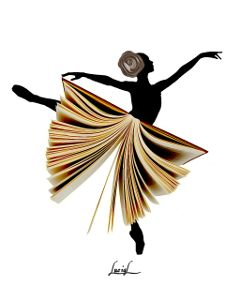 dancer book openbook surreal dream