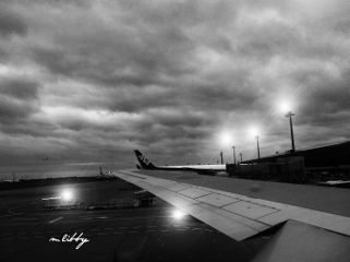 travel airport airplane planes lights