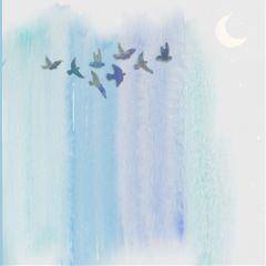 freetoedit backgrounds stripes moon pastel