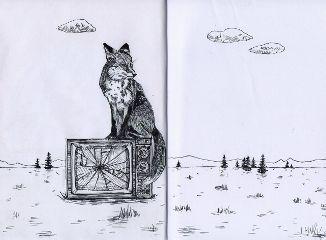 inktober drawing