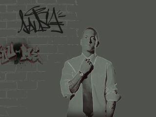 freetoedit eminem neon p&bvintage rap