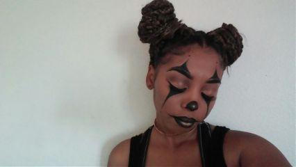 freetoedit clowns makeup happyhalloween. 31daysofhalloween