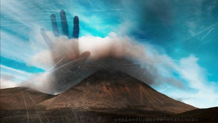 fridaythe13th spooky mysterious mountain clouds freetoedit