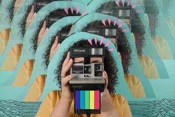 freetoedit motioneffect polaroid rainbow cute