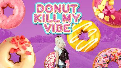 exploringremix girl donut pink colors yummy vibe