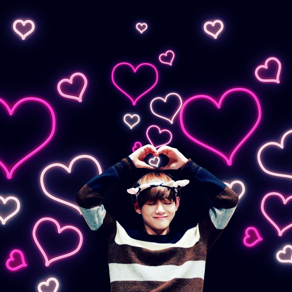 Image result for bts taehyung heart